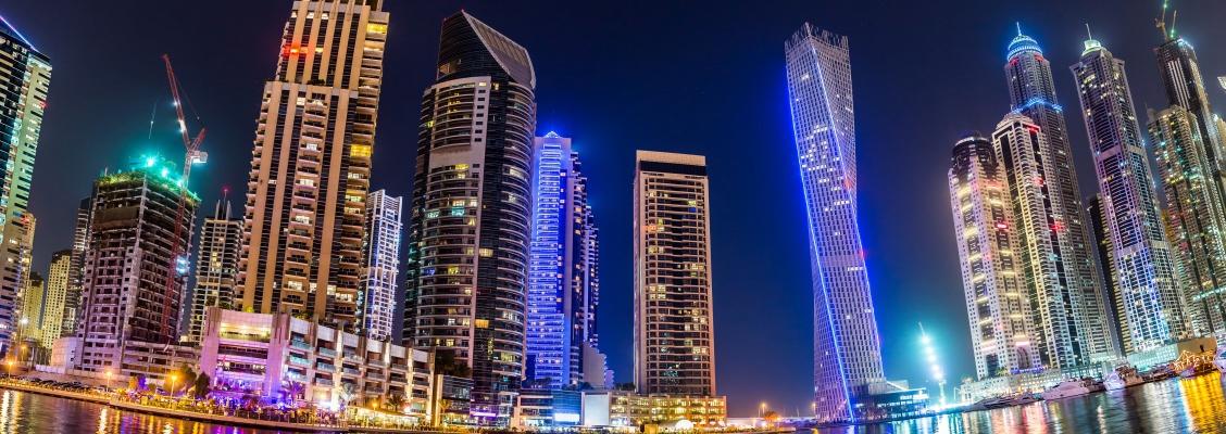 Dubai Marina – yacht cruises