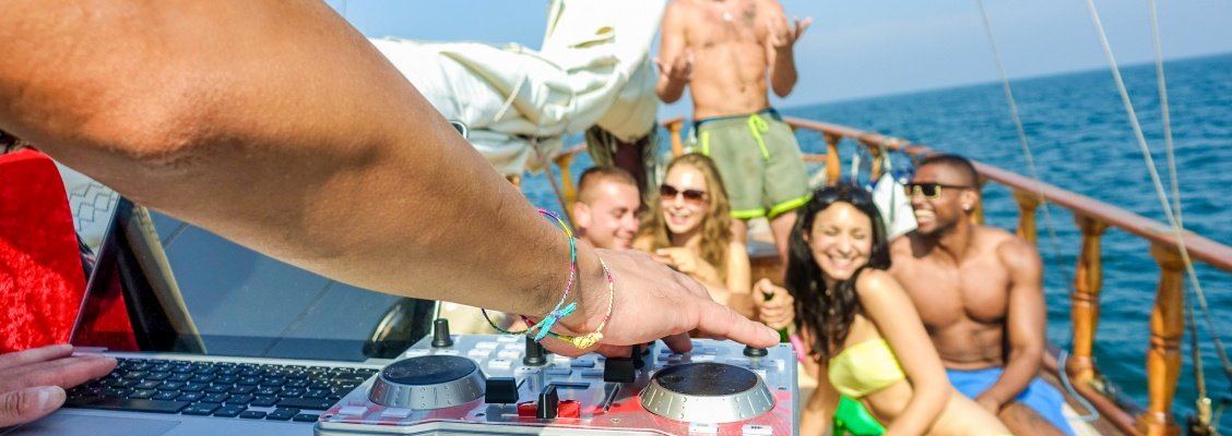 Yacht party essentials with CharterClick